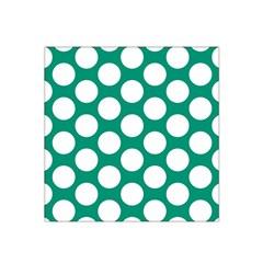 Emerald Green Polkadot Satin Bandana Scarf