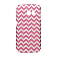Pink And White Zigzag Galaxy S6 Edge