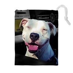 Smile Drawstring Pouches (Extra Large)