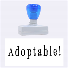 Adoptable Rubber Stamps (Large)