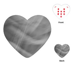 Gray Fog Playing Cards (heart)