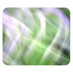 Green And Purple Fog Double Sided Flano Blanket (small)