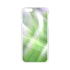 Green and Purple Fog Apple Seamless iPhone 6/6S Case (Transparent)
