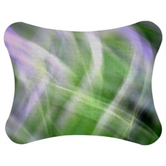 Green and Purple Fog Jigsaw Puzzle Photo Stand (Bow)