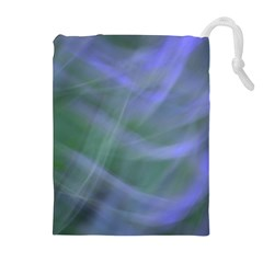 Purple Fog Drawstring Pouches (extra Large)
