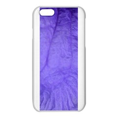 Purple Modern Leaf iPhone 6/6S TPU Case