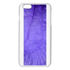 Purple Modern Leaf iPhone 6 Plus/6S Plus TPU Case