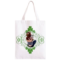Pit Bull T Bone Lucky Puppy Classic Light Tote Bag