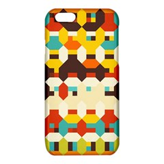 Shapes in retro colors iPhone 6/6S TPU Case