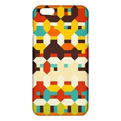 Shapes in retro colors 			iPhone 6 Plus/6S Plus TPU Case