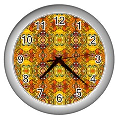 Roof555 Wall Clocks (Silver)