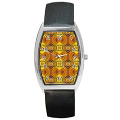 Roof555 Barrel Style Metal Watch