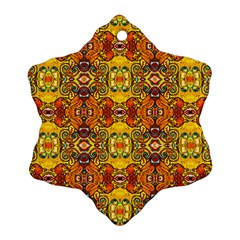 Roof555 Snowflake Ornament (2-Side)