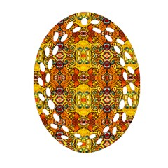 Roof555 Oval Filigree Ornament (2-Side)