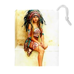 Indian 15 Drawstring Pouches (Extra Large)