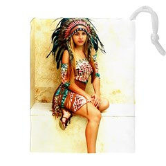 Indian 15 Drawstring Pouches (xxl)