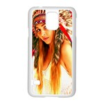 Indian 25 Samsung Galaxy S5 Case (White) Front