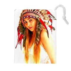 Indian 25 Drawstring Pouches (extra Large)
