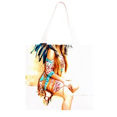 Indian 18 Grocery Light Tote Bag