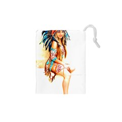 Indian 18 Drawstring Pouches (XS)