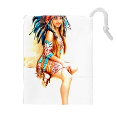 Indian 18 Drawstring Pouches (Extra Large)