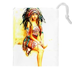 Indian 16 Drawstring Pouches (XXL)