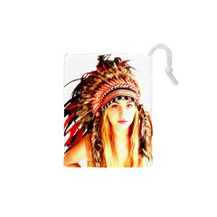Indian 3 Drawstring Pouches (XS)