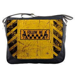 Follow Me Used Look Messenger Bags