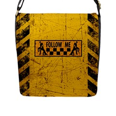 FOLLOW ME used look Flap Messenger Bag (L)