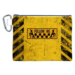 FOLLOW ME used look Canvas Cosmetic Bag (XXL)