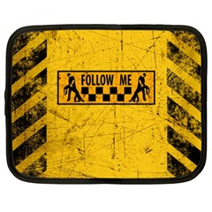 FOLLOW ME used look Netbook Case (XXL)
