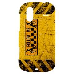 FOLLOW ME used look HTC Amaze 4G Hardshell Case