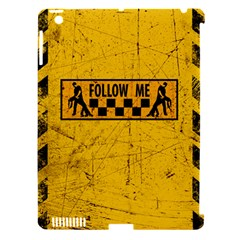FOLLOW ME used look Apple iPad 3/4 Hardshell Case (Compatible with Smart Cover)