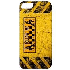 FOLLOW ME used look Apple iPhone 5 Classic Hardshell Case