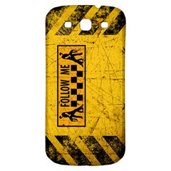 FOLLOW ME used look Samsung Galaxy S3 S III Classic Hardshell Back Case