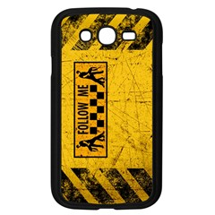 FOLLOW ME used look Samsung Galaxy Grand DUOS I9082 Case (Black)
