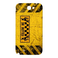 FOLLOW ME used look Samsung Note 2 N7100 Hardshell Back Case