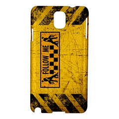 FOLLOW ME used look Samsung Galaxy Note 3 N9005 Hardshell Case