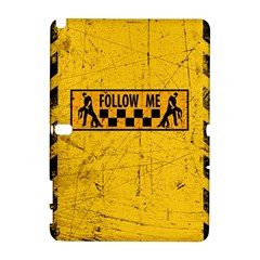FOLLOW ME used look Samsung Galaxy Note 10.1 (P600) Hardshell Case