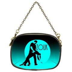 ZOUK blue moon Chain Purses (Two Sides)