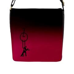 Zouk Flap Messenger Bag (l)