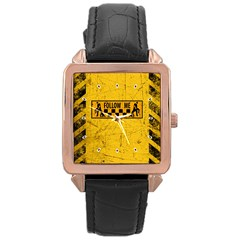 FOLLOW ME used look Rose Gold Watches