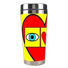 I Love Zouk Stainless Steel Travel Tumblers