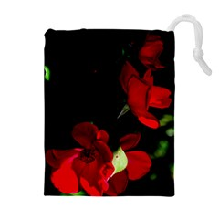 Roses 1 Drawstring Pouches (Extra Large)
