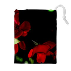 Roses 2 Drawstring Pouches (Extra Large)