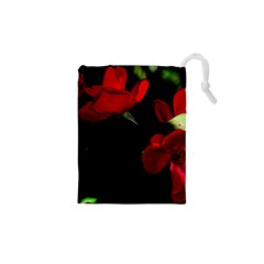 Roses 3 Drawstring Pouches (XS)
