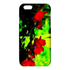 Red Roses and Bright Green 1 iPhone 6/6S TPU Case