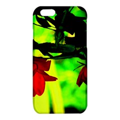 Red Roses and Bright Green 2 iPhone 6/6S TPU Case