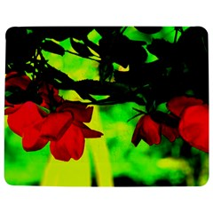 Red Roses and Bright Green 2 Jigsaw Puzzle Photo Stand (Rectangular)