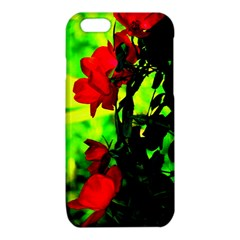 Red Roses and Bright Green 3 iPhone 6/6S TPU Case